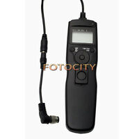 Timer Remote Shutter Removable Cord For Nikon D810 D800 D800E D4 D200 D300 D700