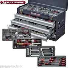 KRAFTWERK 1046 Werkzeugkoffer Werkzeugkasten 100tlg 4 Schubladen mob. Werkstatt
