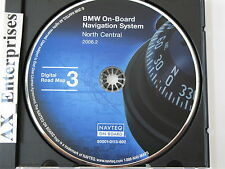 BMW 3 5 7 Series M3 M5 X5 Z8 Navigation # 602 Edition 2006.2 CD 3 North Central