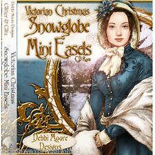 Debbi Moore Designs Victorian Christmas Snowglobe Mini Easles CD Rom (293626)