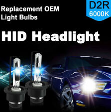 6000K D2R Xenon Lamp Headlight Replace Factory 2X HID Low Beam for Osram
