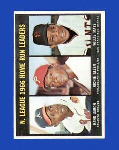 1967 Topps Set Break #244 NL Home Run Leaders NR-MINT *GMCARDS*