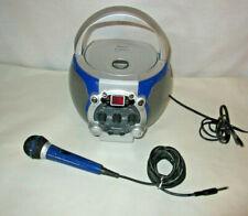 Memorex Karaoke CDG System CD Player with Karaoke Microphone PA System