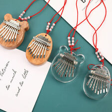More details for woodev/acrylic thumb piano 8-tone kalimba mini kalimba thumb piano finger piano.