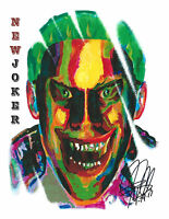 The New Joker, Suicide Squad, DC Comics, Jared Leto, Antihero 8.5x11 PRINT w/COA