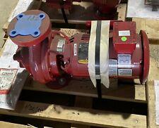 Bell Amp Gossett 75hp 153 Gpm Size 80 525 3600 Rpm Centrifugal Pump