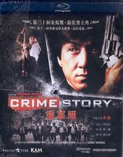 Crime Story Blu Ray Jackie Chan Kent Cheng NEW Eng Sub Action Kidnap