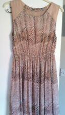 Animal print maxi dress size 16
