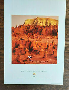 Salt Lake City 2002 Olympics BIATHLON / GOBLIN VALLEY Sports Series Poster #3