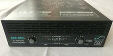 Solton SPA 500 2 x 250 Watt Power Amplifier Verstärker DJ Equipment funktioniert
