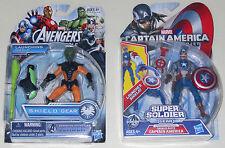Marvel Captain America Avengers Shield Civil War Gear Rocket Launcher figure Lot