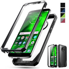 Motorola Moto G6 Case,Poetic Clear PC Back TPU Bumper Drop Protector Cover
