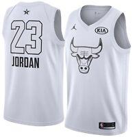 Jordan Brand 2018 NBA All Star Chicago Bulls Michael Jordan Swingman Game Jersey