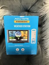 Acurite Weather Station Color Display Wireless Sensor Electronic