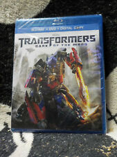 Transformers Dark of the Moon NEW SEALED Blu Ray +DVD Free Shipping