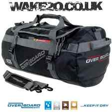 Overboard Weatherproof Adventure Duffle Bag BLACK 35 LITRES boat