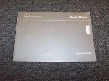 1987 Mercedes Benz 190E 2.3 & 2.6 Owner Owner's Operator Guide Manual 2.3L 2.6L