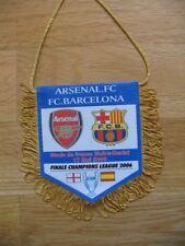 PETIT FANION 10*9 CM ARSENAL.FC Vs FC.BARCELONA FINAL CHAMPIONS LEAGUE 2006