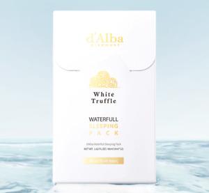 D'ALBA Waterfull Sleeping Pack 4ml * 12ea (Tracking)