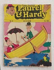 OLD  VINTAGE  LAUREL  &  HARDY  COMIC  --  Larry Harmon ' s  --  No.  -- 20