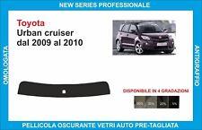 fasce parasole vetri Toyota urban cruiser dal 2009 al 2010