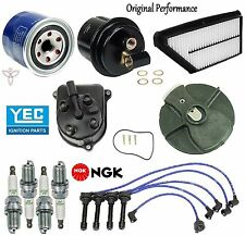 Tune Up Kit Filters Cap Rotor Spark Plugs Wire for Honda Prelude Si; 2.3L 92-96