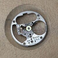 Vintage Bulova Accutron 214 Movement Partial Pillar Plate M6 1966 Watchmakers