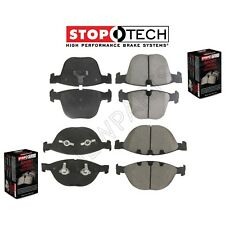 For BMW M6 Alpina B7 Sport Performance Rear & Front Disc Brake Pads KIT StopTech