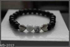Gemstone Turquoise Beads Tibetan Love Hearts Bracelet