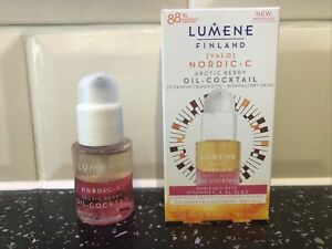 LUMENE FINLAND NORDIC-C ARCTIC BERRY OIL COCKTAIL NEW 15ML Antioxidant & Vitamin