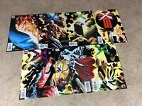 EARTH X #0,1,2,3,4,5,6 LOT OF 7 COMIC VF 1999 MARVEL