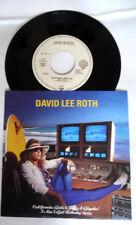 David Lee Roth california girls 1988 promo french 45T Vinyl MINT / MINT Unplayed