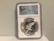 2013 CANADA BALD EAGLE $20 RETURNING FROM THE HUNT E/R NGC PF70 ULTRA CAMEO