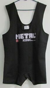 Metal King Deadlifter Suit size 52 Black (Lightly Used)