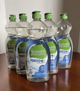 Seventh Generation 22733 Natural Dish Liquid Soap Free & Clear - Qty 1
