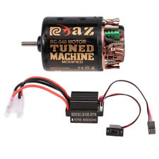 540 45T Brushed Motor ESC Combo for 1/10 Axial SCX10 RC4WD D90 Climbing Car