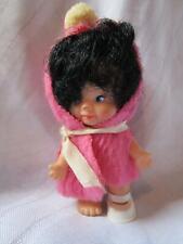 "Vintage Uneeda Pee Wees doll cute original 1965 miniature 4"""