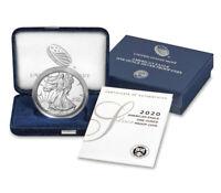 2020 American Eagle Silver Proof 1 oz Coin US Mint OGP Box COA One Ounce bullion