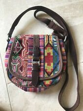Toms Colorful Woven Side Shoulder Bag Purse crossbody