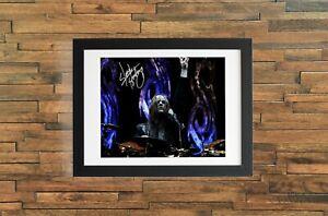 Joey Jordison Autographed Signed Reprint 8x10 Photo Poster Print
