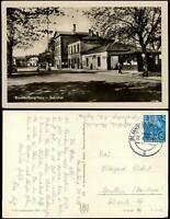 Ansichtskarte Blankenburg (Harz) Bahnhof 1956