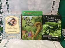 3 bks (8-12) Betsy-Tacy; Magic Treehouse Crazy Day/Cobras; Monsters Morley Manor