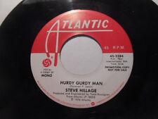 Steve Hillage, Hurdy Gurdy Man Mono Stereo Promo 45, Vg+