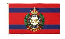 More details for duraflag royal engineers corps 3ft x 2ft flag with rope and toggle