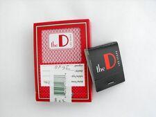 The D CASINO HOTEL Las Vegas CARDS & MATCHBOOK LOT