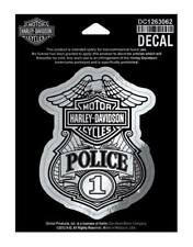 Harley-Davidson Police Original Decal, Small Size Sticker DC1263062
