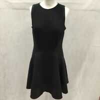 Womens Size 3 Ted Baker Just For You  Black Fit And Flare Sleeveless Dress Event