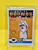 """Pau Gasol Topps Heritage Rookie Card Insert """"Out Of Bounds"""" Memphis Grizzlies"""