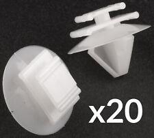 20x Trim Clips for Peugeot 106 206 207 306 307 806 Exterior Door Skirt Moulding