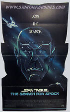 HUGE FLOOR Standing MOVIE THEATER DISPLAY Star Trek III: The Search for Spock!